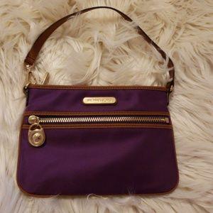 MK Purple wristlet